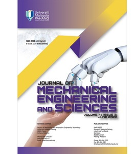Journal of Mechanical Engineering and Science