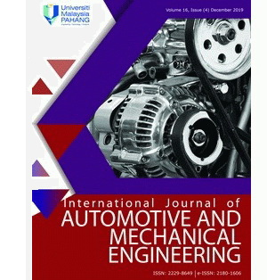 International Journal of Automotive and Mechanical Engineering